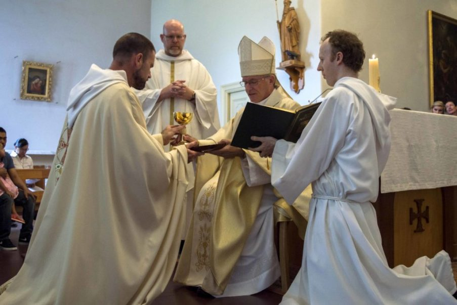 Dom Robert Nixon ordained a Priest.