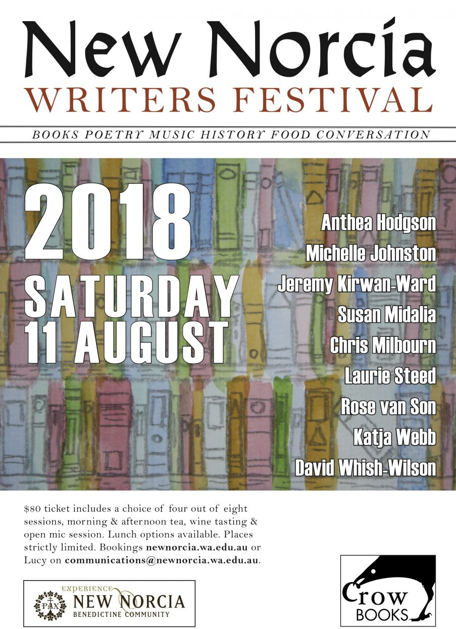 2018 New Norcia Writers' Festival