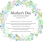 Mother's Day at the New Norcia Hostel: Sunday 9th May