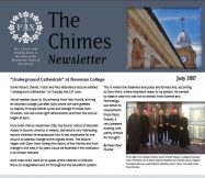 The July Chimes Magazine