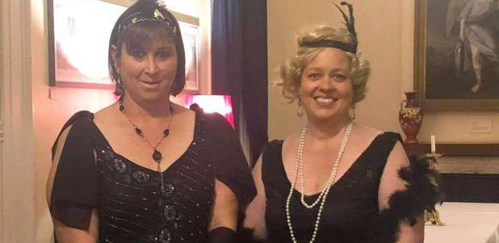 Celebrating the 1920's at the New Norcia Hostel