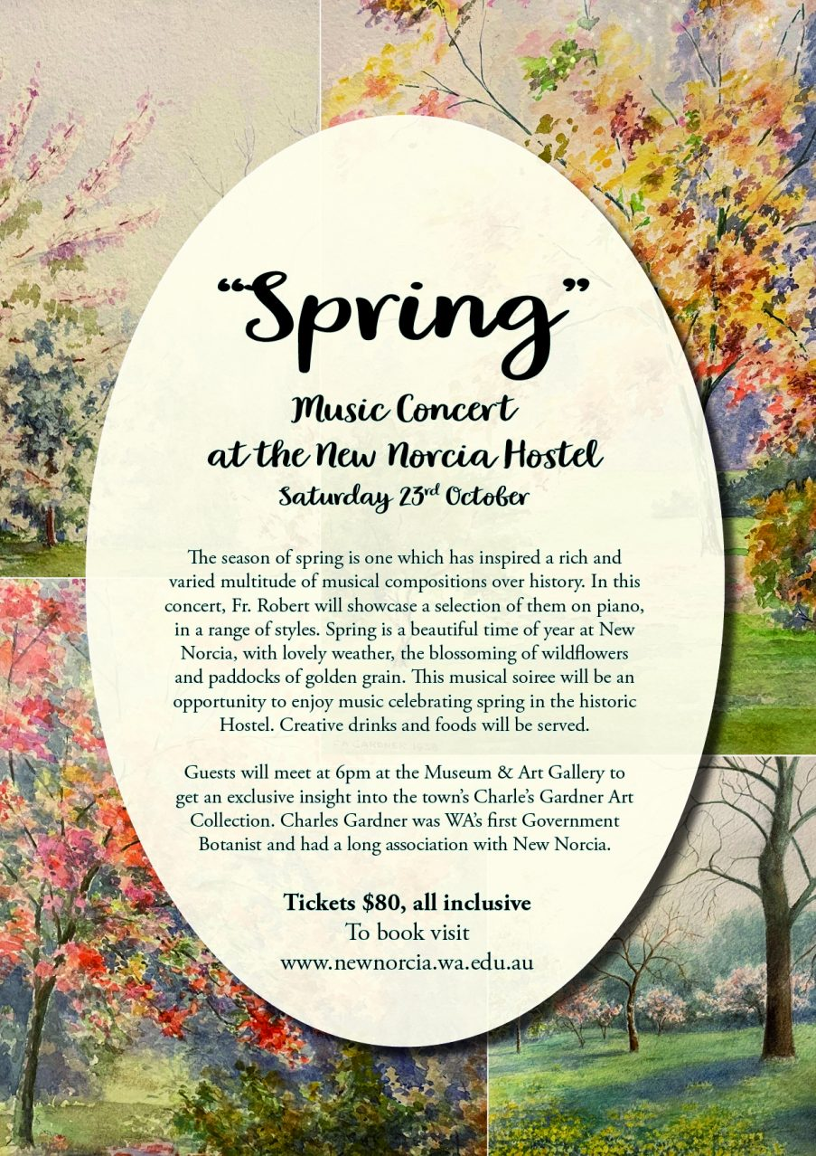 """""""Spring"""" Music Concert at the New Norcia Hostel"""