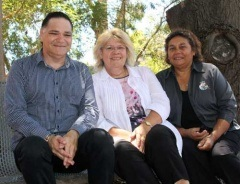 Paul Willaway, Margaret Drayton and Mary Nannup - Executive Directors, New Norcia Aboriginal Corporation